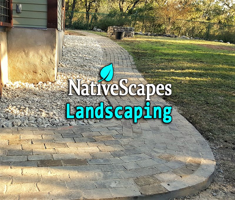 Creative Walkways creative walkways - nativescapes landscaping new braunfels, tx